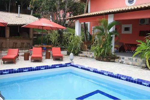 Piscina :: Hotel Pousada Paradiso Tropical - Maceió AL