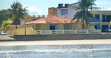 O ECOHAR Yoga Ashram esta frente ao mar da linda praia de Maragogi- AL. Esta foto é a fachada do ECO :: ECOHAR Yoga Ashram - Maragogi AL