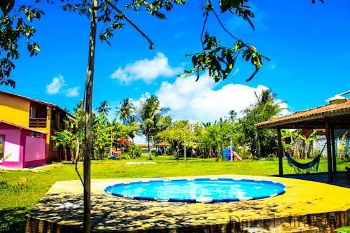 piscina :: Pousada Paraiso do Sol - Ilhéus BA