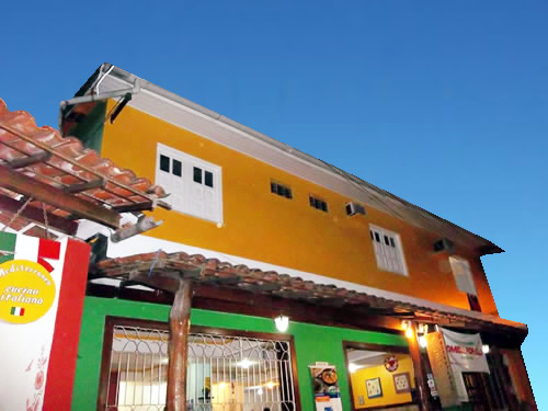 Frente da Pousada :: Pousada Gaucho - Morro de São Paulo BA