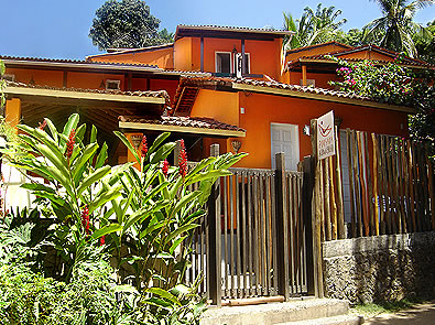 fachada pousada aconchego :: Pousada Aconchego - Salvador BA