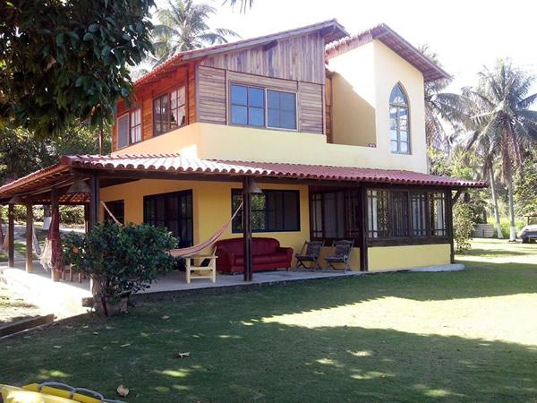 Casa da Lagoa. Uma casa com o espaço, acomodações e lazer para toda a família.  :: Pousada Camping Porto Grande - Guarapari ES