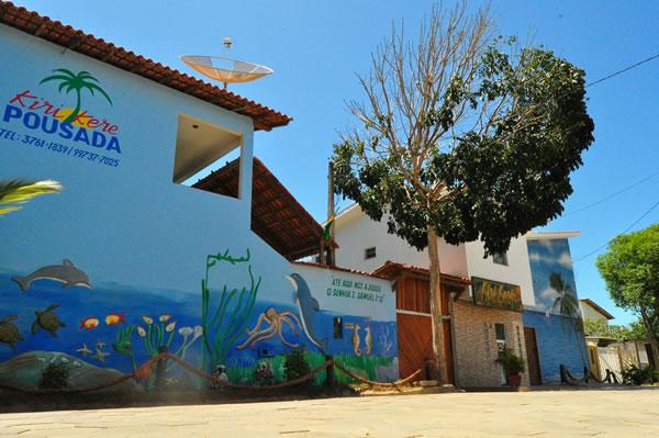 fachada norte externa :: Pousada Kiri-Kerê - São Mateus ES