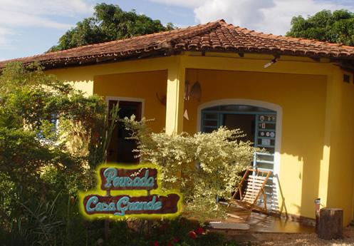 A Pousada :: Pousada Casa Grande - Alto Paraíso de Goiás GO