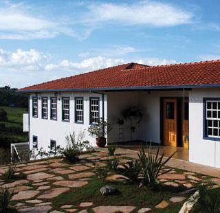Fachada :: Pousada Pouso do Alferes - Santo Antônio do Leite (Ouro Preto) MG
