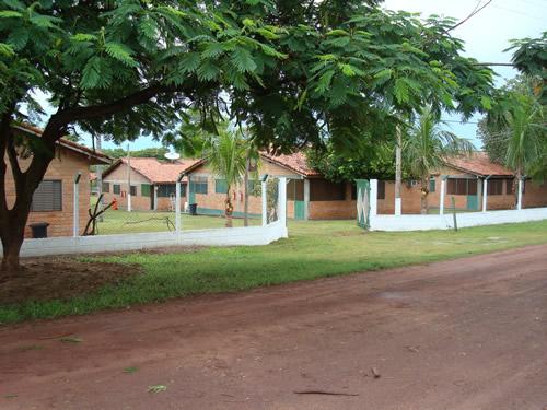 Frente da Pousada - 2008 :: Pousada Albuquerque - Pantanal - Corumbá MS