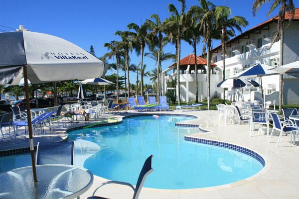 Piscinas Adulto e Infantil :: Hotel Pousada Villa Real - Guaratuba PR