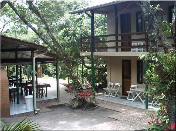 Fachada da pousada  :: Pousada Paraíso - Ilha do Mel PR