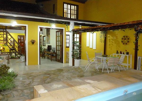 Área externa :: Pousadinha da Barra da Tijuca - Rio de Janeiro RJ