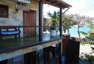 Pousada em Paraty - Chill Inn Hostel.  Albergue e Bar de Praia com Vista para o Mar :: Chill Inn Hostel e Pousada - Paraty RJ