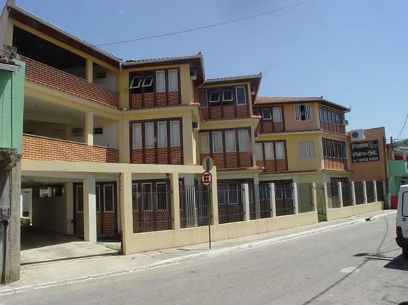 Fachada da pousada :: Pousada Porto do Sol - Cabo Frio RJ
