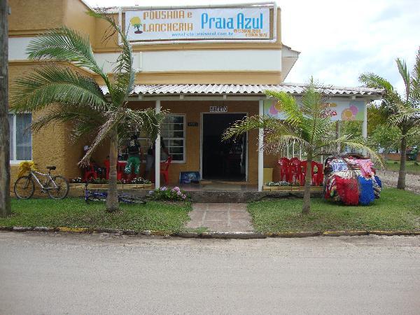 frente da pousada :: Hotel e Pousada Praia Azul - Arroio do Sal RS