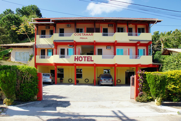 Fachada do Costamar Praia Hotel :: Costamar Praia Hotel - Penha SC