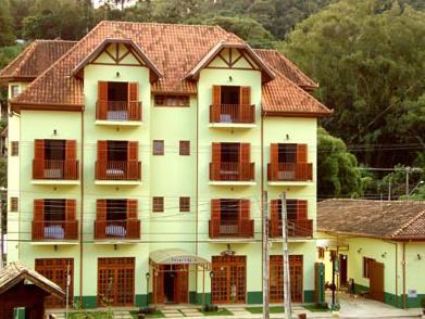 frente da pousada :: Pousada Boa Vista Pinhal - Santo Antonio do Pinhal SP