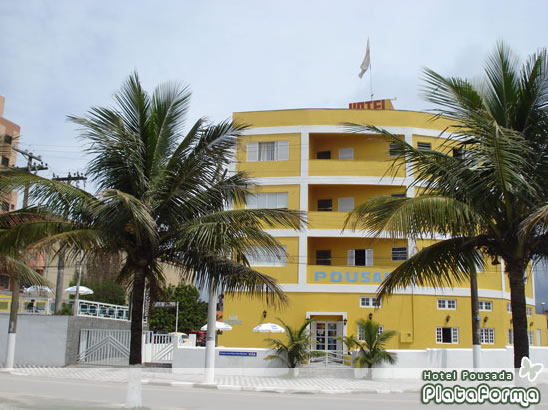 Fachada :: Pousada Hotel Plataforma - Mongaguá SP
