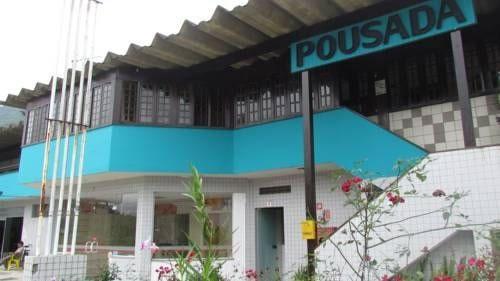 Fachada da Pousada charmosa :: Pousada Costa Verde - Caraguatatuba - Ubatuba SP