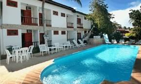 Vista da piscina principal. :: Pousada Arigatô - Porto Seguro BA