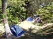 Venha acampar em um lugar com muito verde. :: Pousada Camping Porto Grande - Guarapari ES