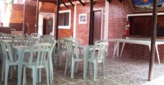 Salão de café :: Ronaldo´s Pousada - Ilha do Mel PR