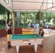 Mesas de sinuca e pimbolim :: Pousada Fazendinha - Campo Mourão PR
