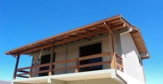 Varanda com vista panorâmica! :: Almar Suites - Praia do Rosa SC
