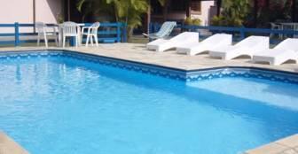 piscina do Francis Hotel Pousada :: Francis Hotel Pousada - Caraguatatuba SP