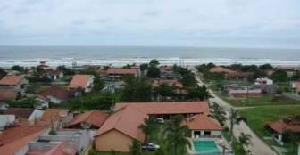 Vista Aérea :: Pousada Portal da Juréia - Iguape SP