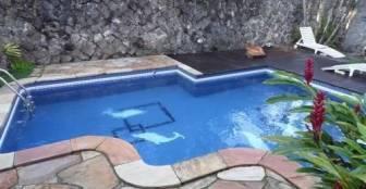 piscina :: Pousada Abnara - Ubatuba SP